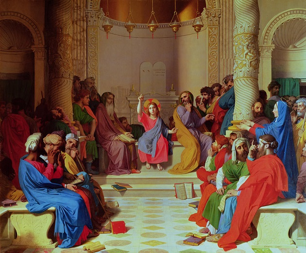 Ingres_Jesus-among-the-doctors