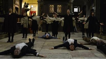 oração coreográfica