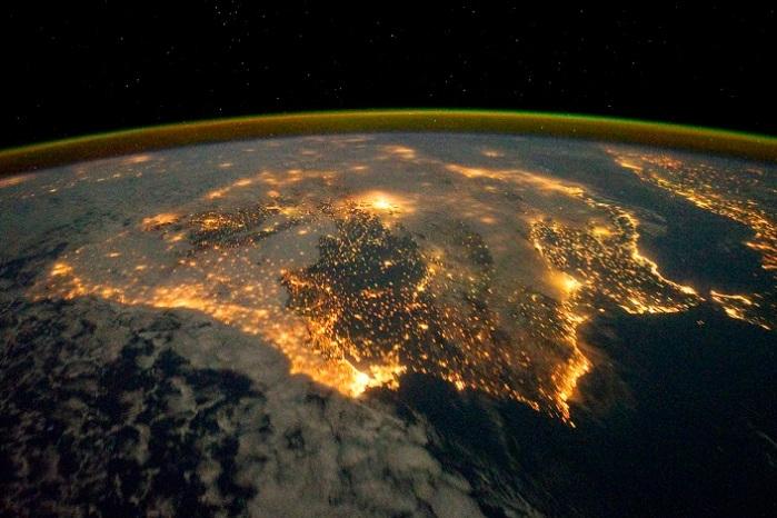 NASA -Península Ibérica 04.12.2011