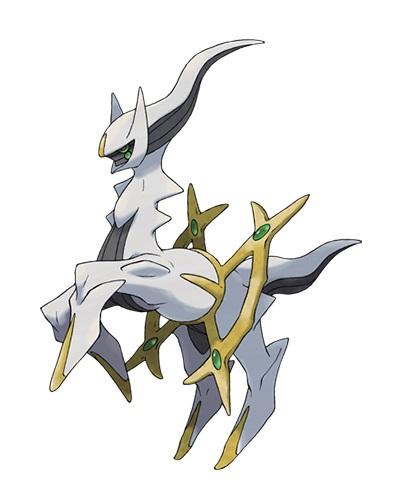 Arceus, deus pokémon