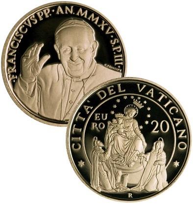 euro coin francis
