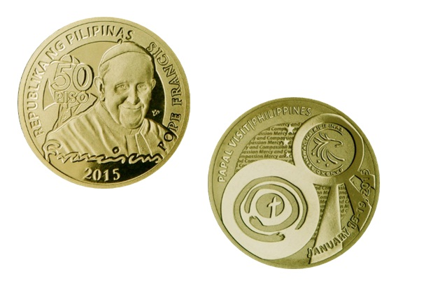moeda comemorativa Filipinas
