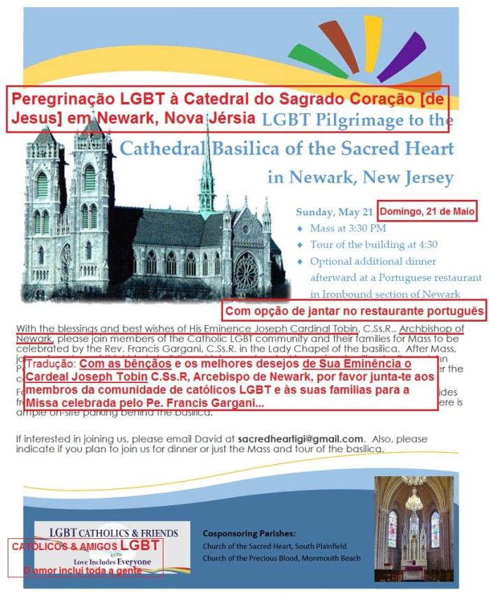 peregrinação gay