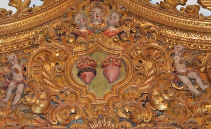 pormenor de um dos altares laterias, Sé de Faro.jpg