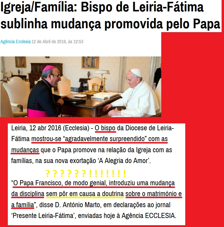notícias ecclesia